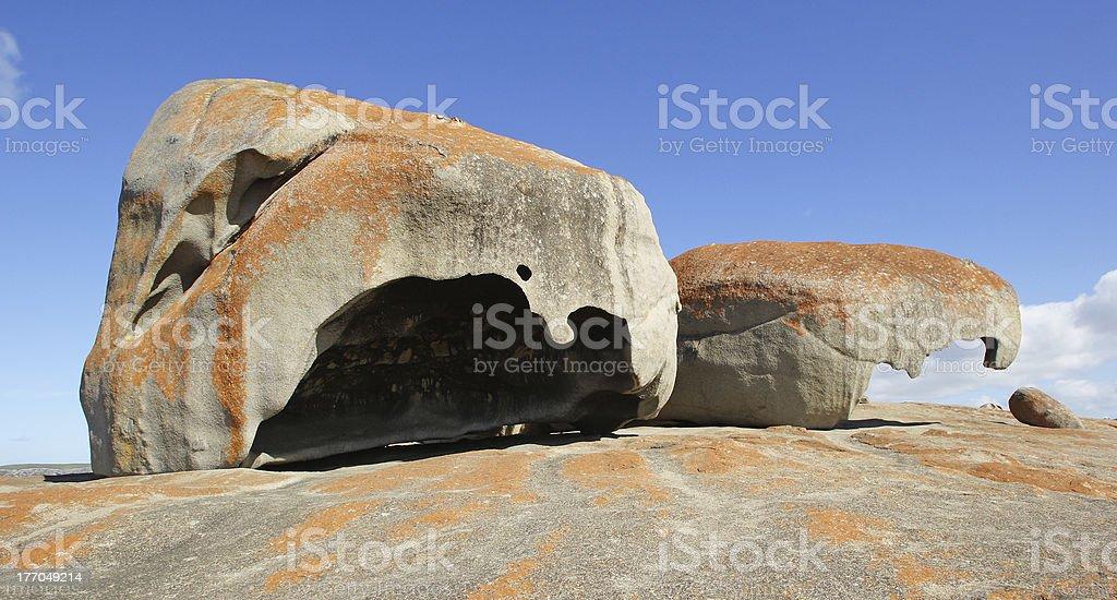 Remarkable Rocks, Australia stock photo