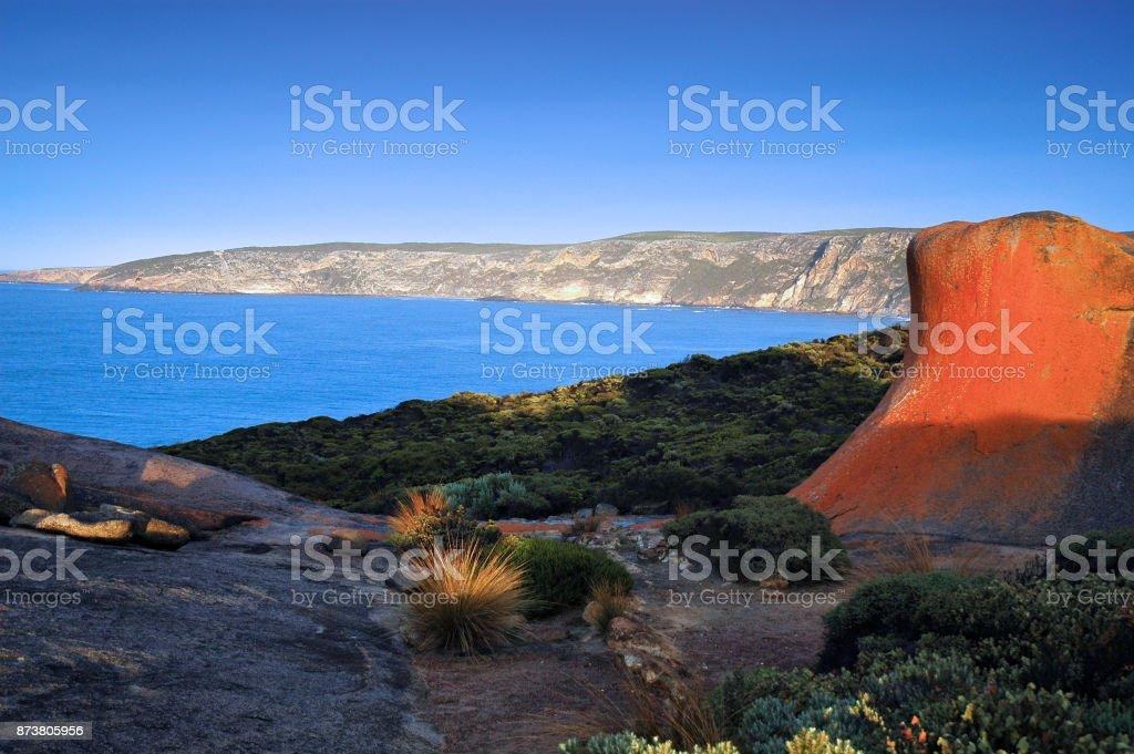 Remarkable Rocks Kangaroo Ialand stock photo