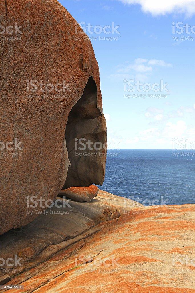 Remarkable Rocks stock photo