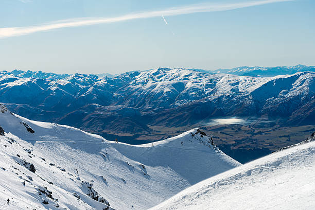 Remarkables Ski Field und von Arrowtown im Hintergrund – Foto