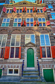 Amsterdam,The Netherlands-January 08,2016: The Rembrandt House is a house in the Jodenbreestraat in the center of Amsterdam, now a museum. Between 1639 and 1658 the house was occupied by the famous Dutch painter Rembrandt van Rijn
