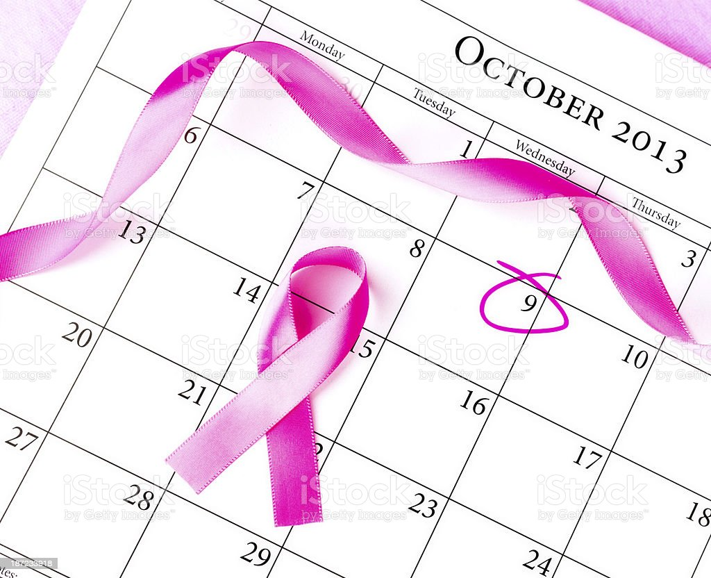 Remember Breast Cancer Awareness Month royalty-free stock photo
