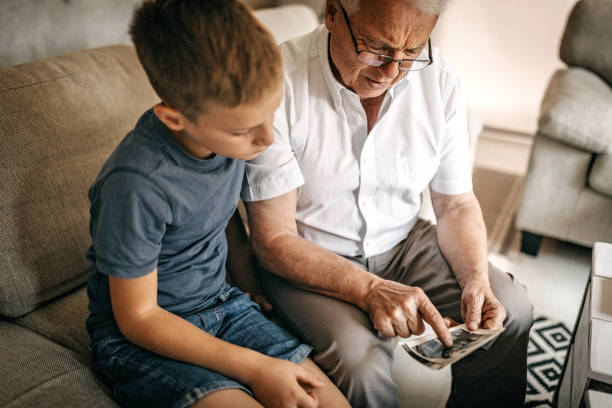 我記得每次和你奶奶一起度假 - 族譜 個照片及圖片檔