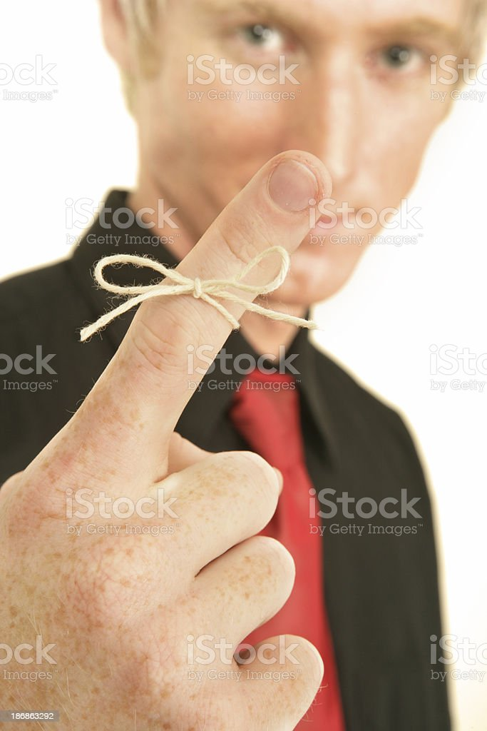 Remember! royalty-free stock photo