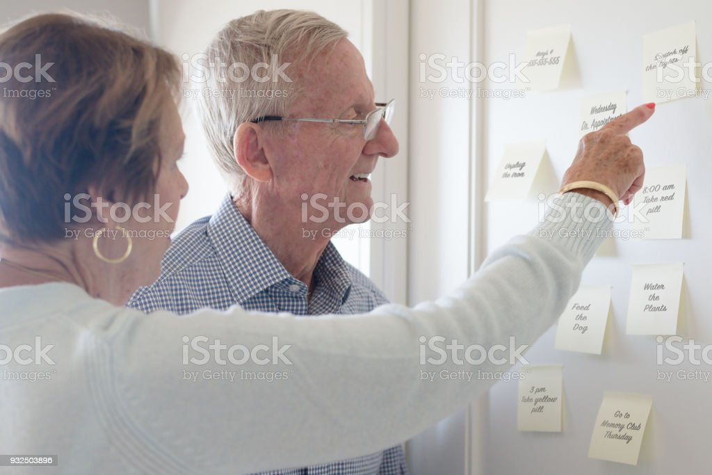 Remember! stock photo