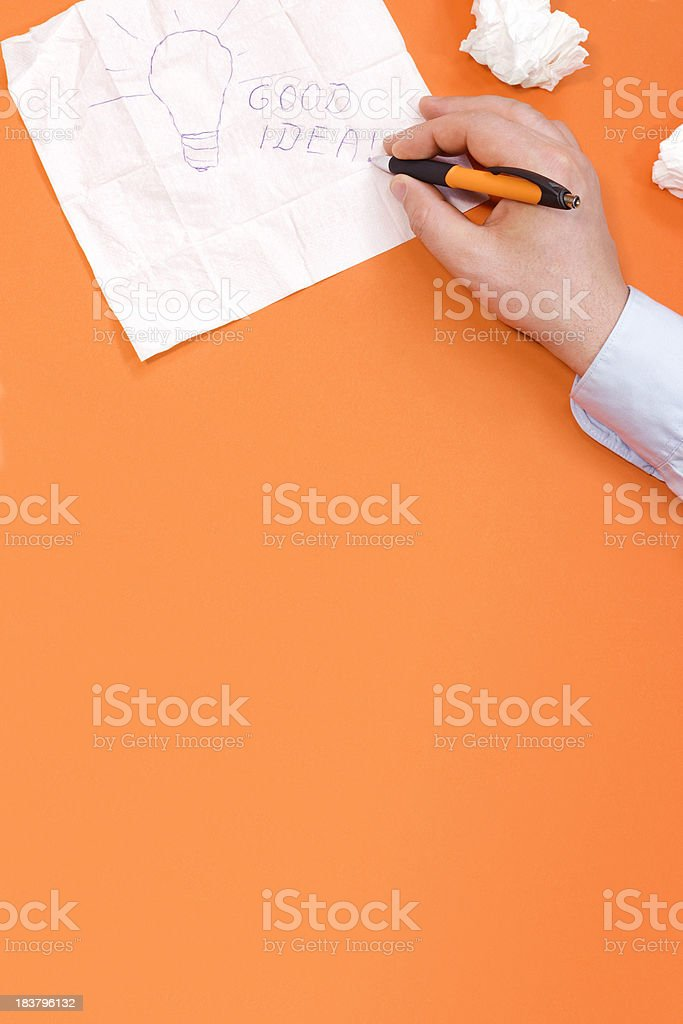 Remember the idea royalty-free stock photo