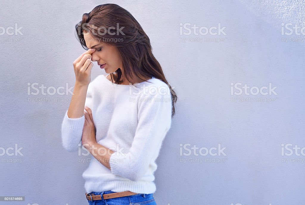 Remember to inhale confidence and exhale doubt stock photo