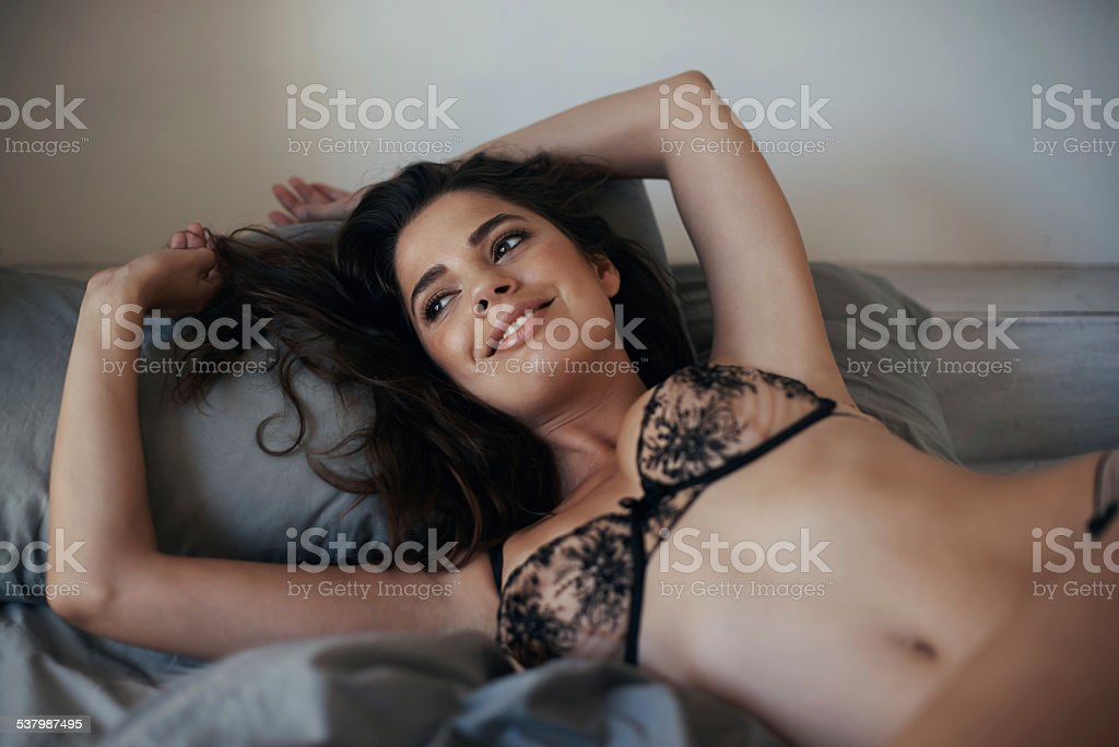 Remembering the night of passion stock photo