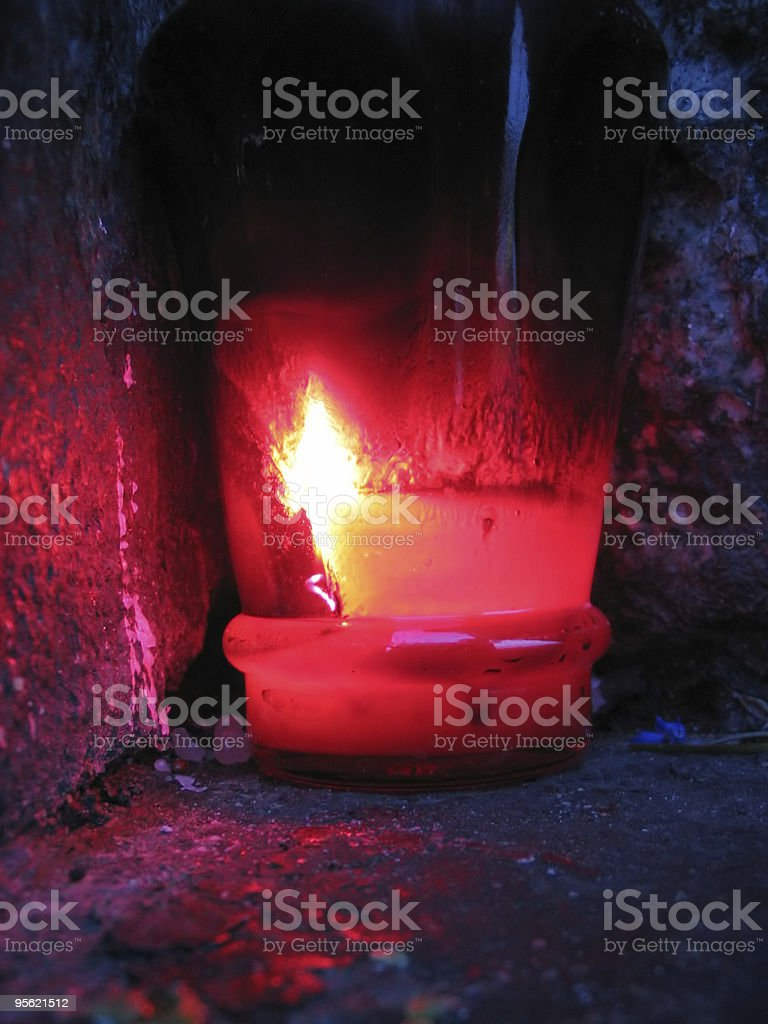 remembrance candle royalty-free stock photo