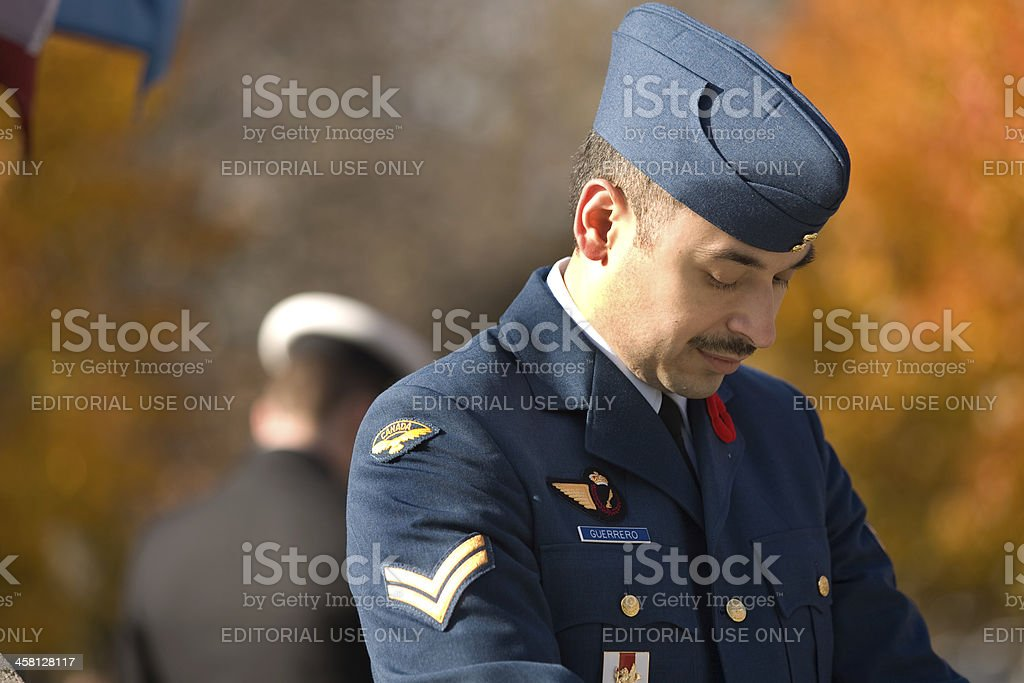 Remembrance Day stock photo