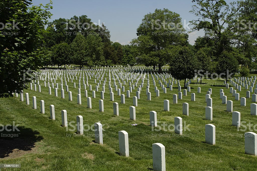 Reminder - Arlington Cemetery royalty-free stock photo
