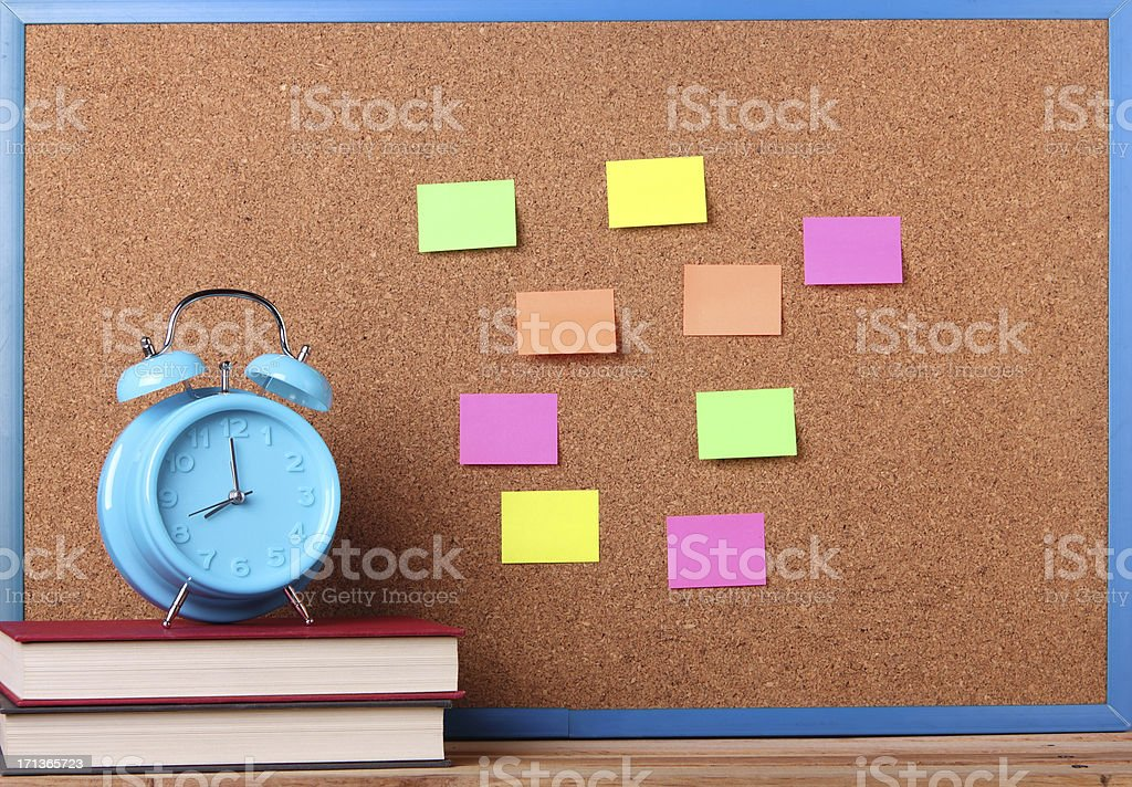 Reminder Board royalty-free stock photo
