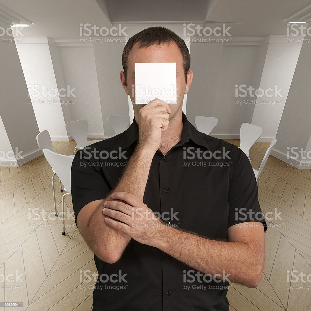 Reminder for the meeting - Royalty-free Adult Stock Photo