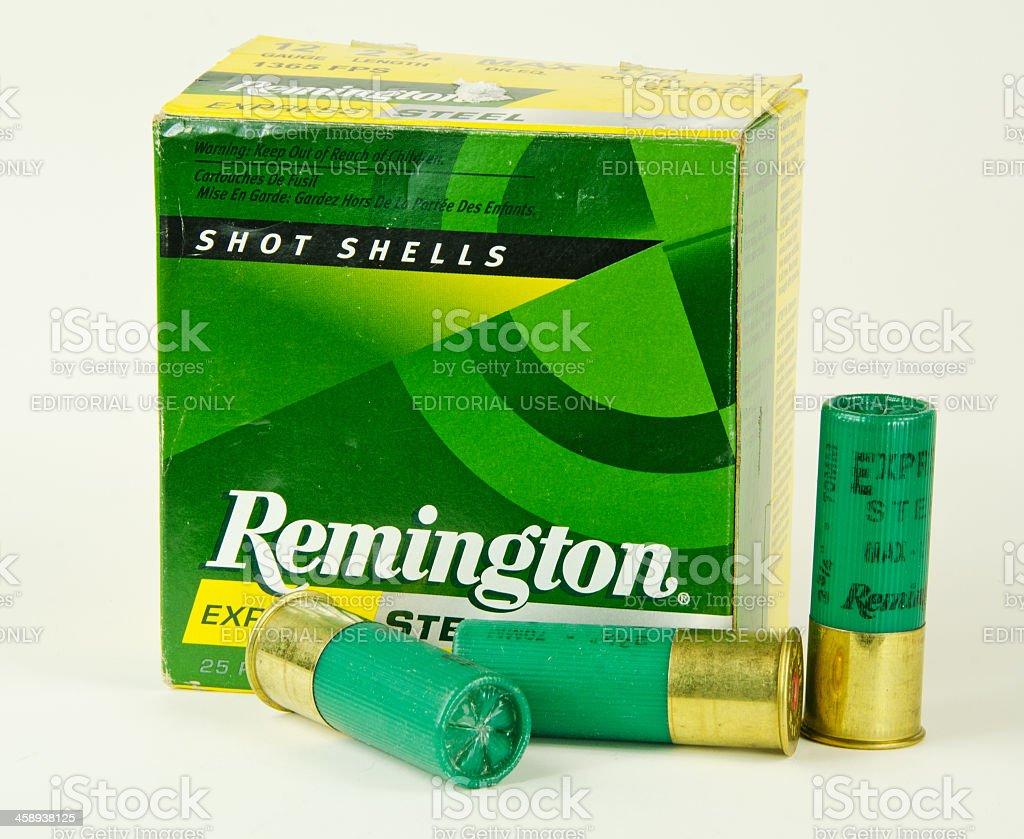Remington Shotgun Shells stock photo