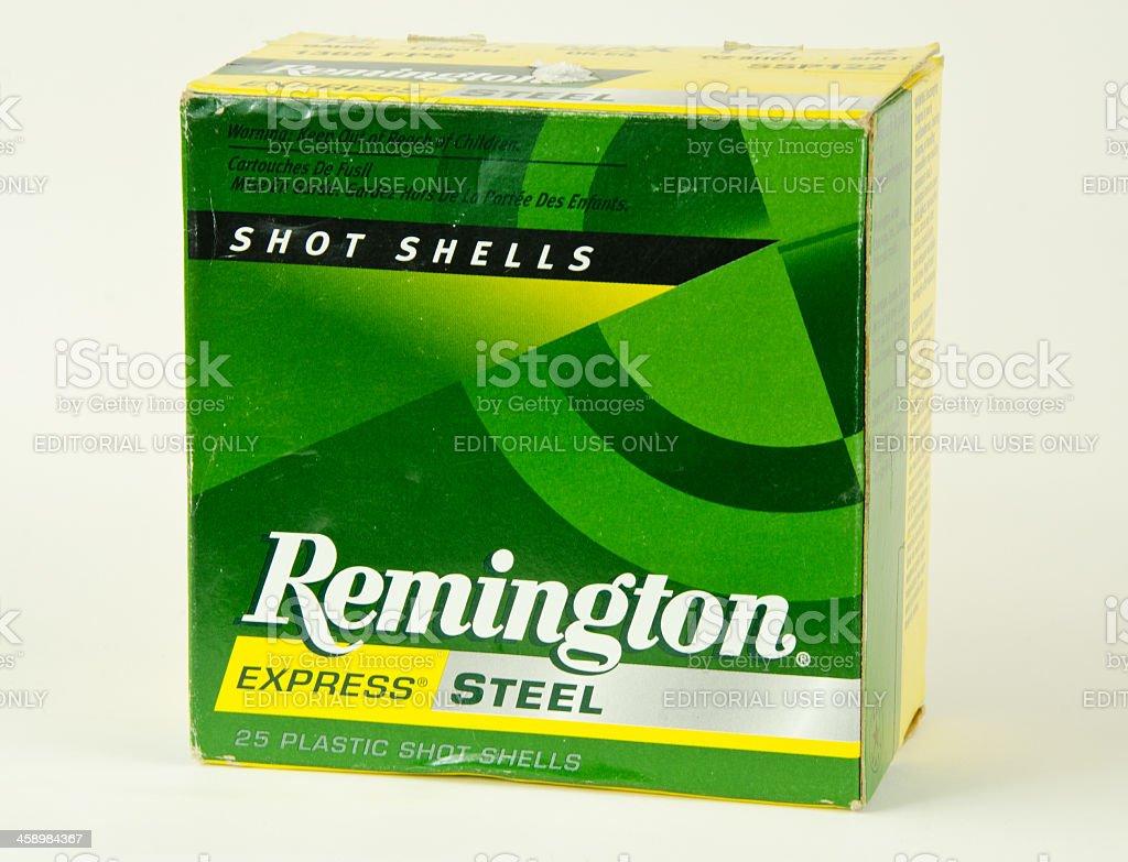 Remington Shotgun Shells royalty-free stock photo