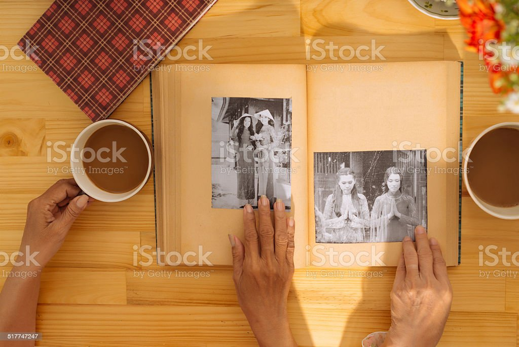 Reminisce stock photo