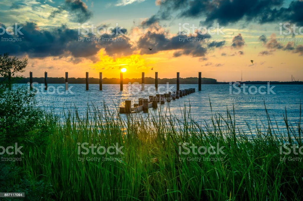 Remley Point stock photo