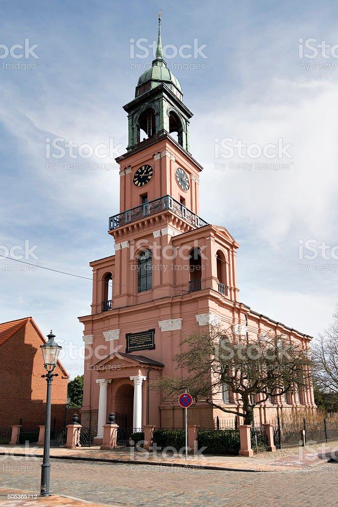 Remonstrantenkirche Friedrichstadt stock photo