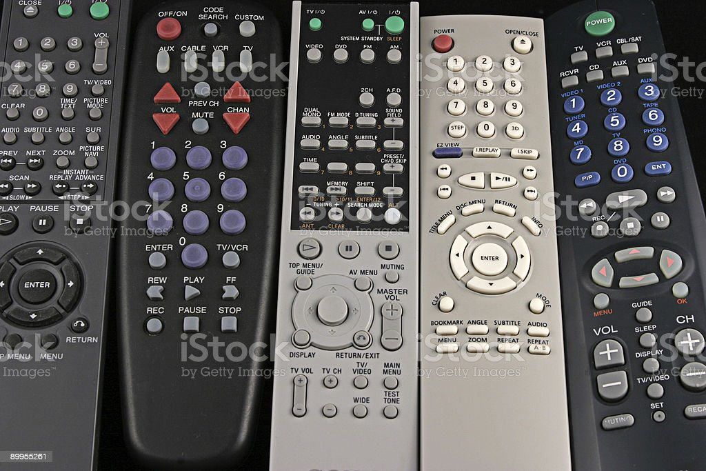 Remote 2 royalty-free stock photo