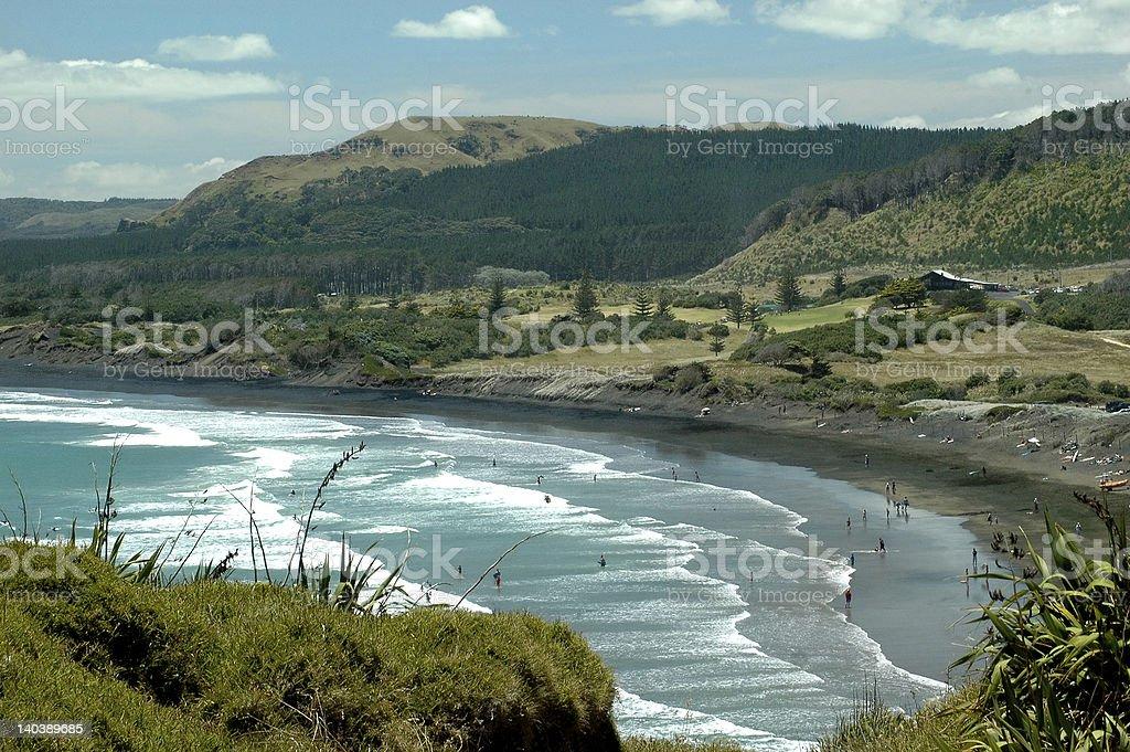 Remote Coast royalty-free stock photo
