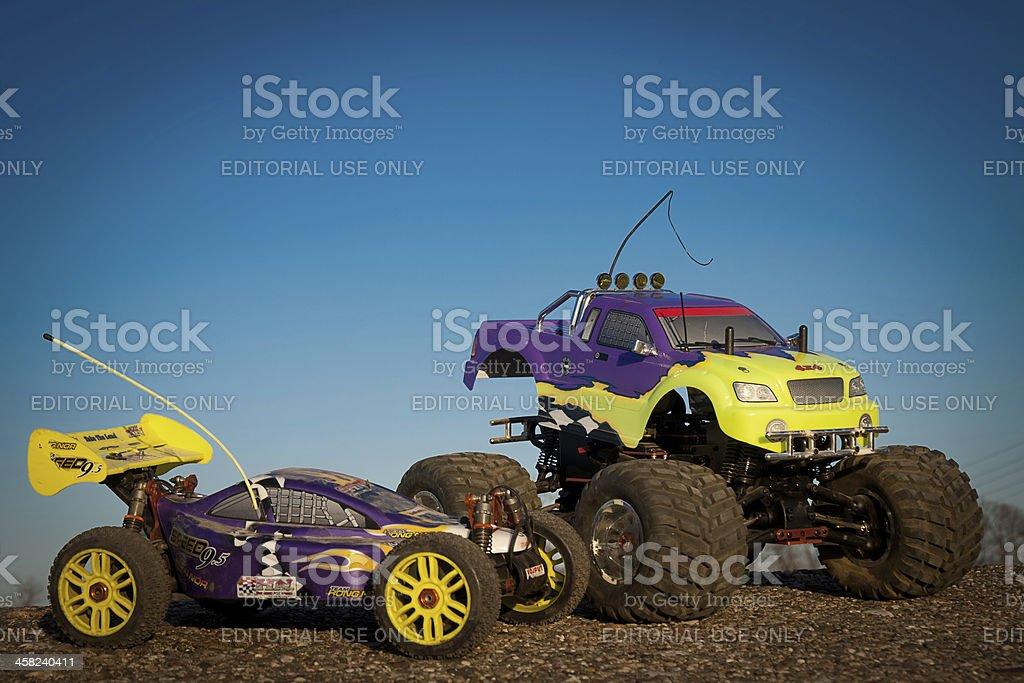 Remote control car stock photo