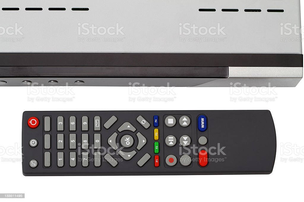 Remote control receiver royalty-free stock photo