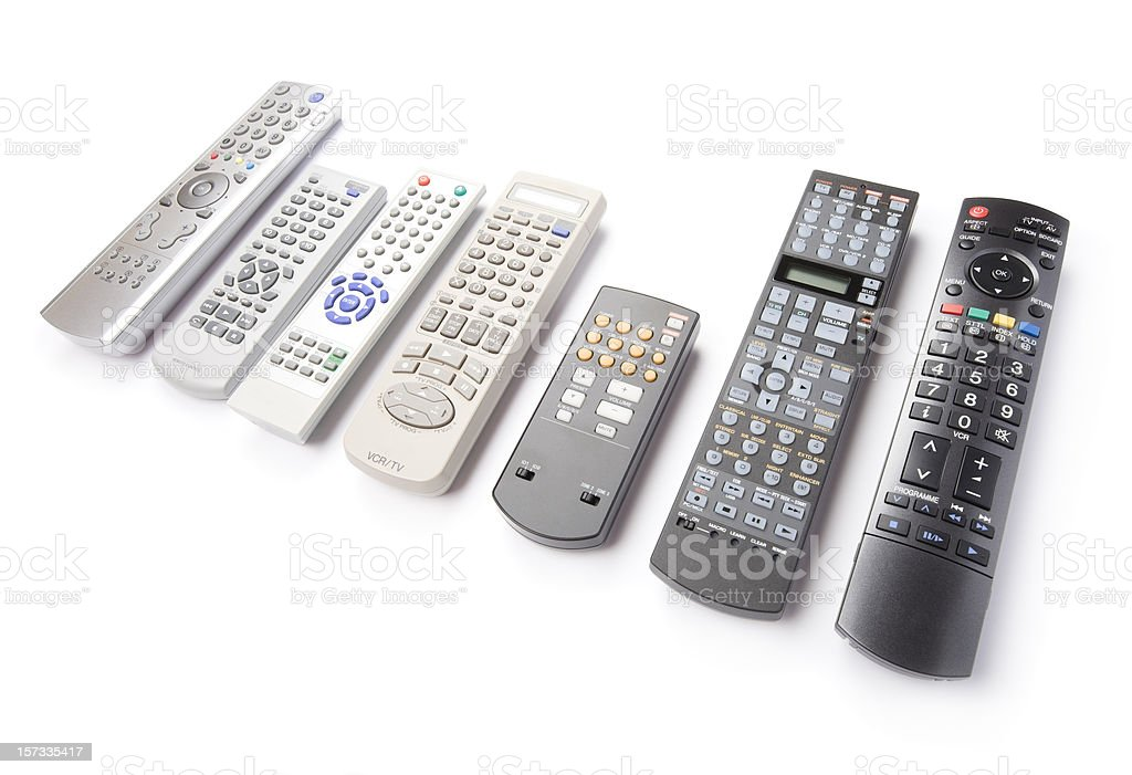 Remote controls royalty-free stock photo