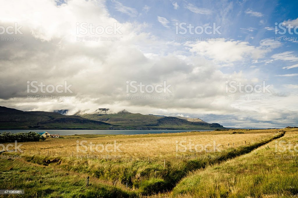 Remote Farm royalty-free stock photo