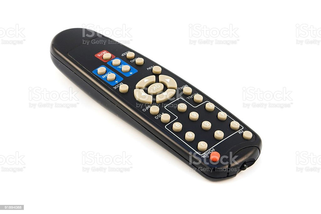 Remote Full stock photo