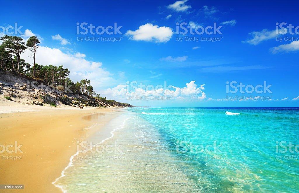 Remote Island - 25 Mpix Panorama stock photo