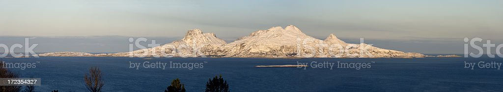 Remote Island in Northern Norway royalty-free stock photo