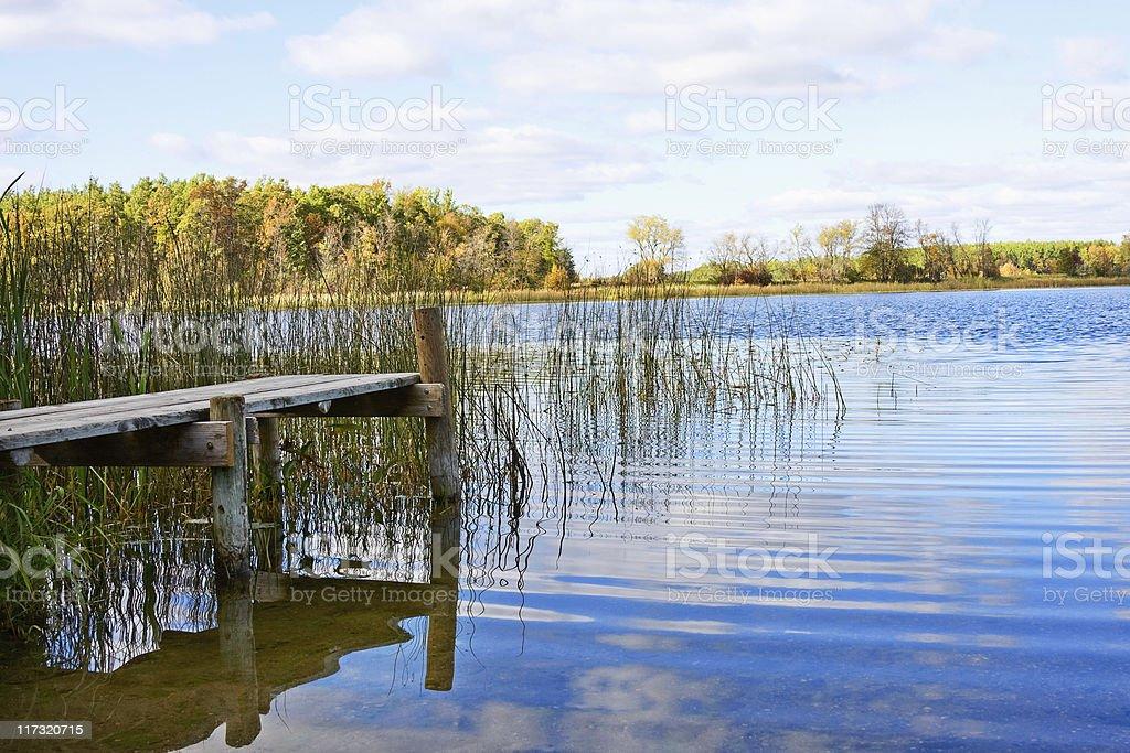 Remote Lake royalty-free stock photo