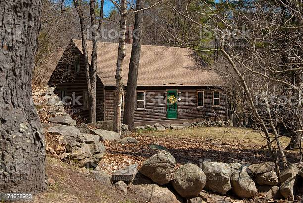 Remote New England Country Homestead