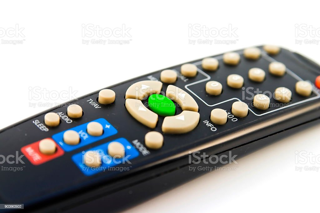 Remote ok stock photo
