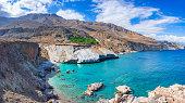 Remote village of Maridaki at the south of Heraklion, Crete, Greece.