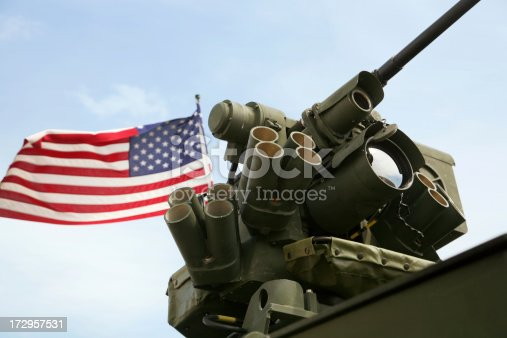 Close up of Protector M151 with an M2 heavy machine gun mounted on a stryker vehicle.Click on the photo below to view more images in my military and patriotism collection.