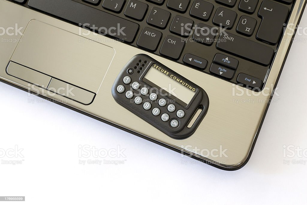 Remote working royalty-free stock photo