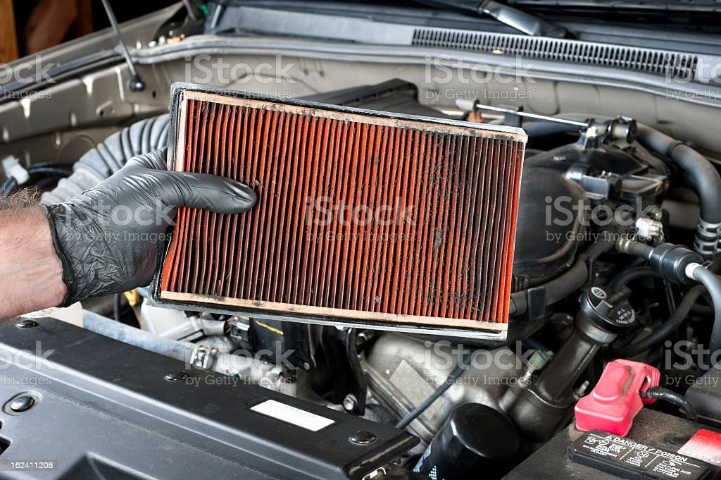 Dirty air filter – Foto