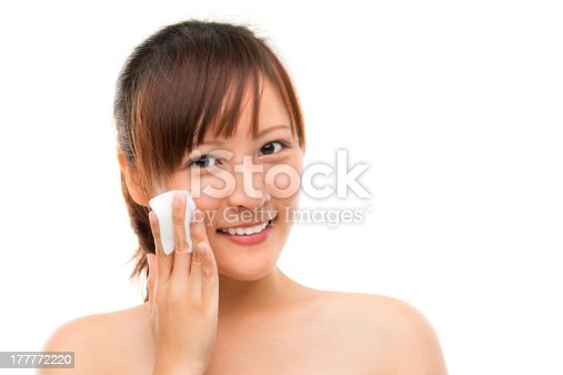 istock Removing face makeup 177772220