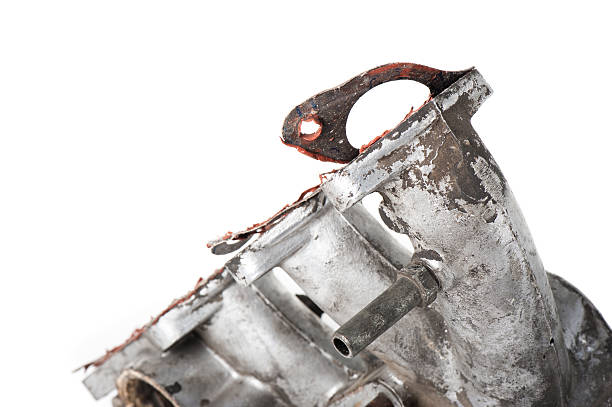 removing old gasket removing old gasket from intake manifolds holes detach stock pictures, royalty-free photos & images