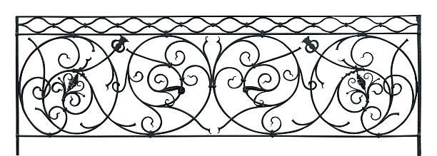 Renaissance balustrade stock photo
