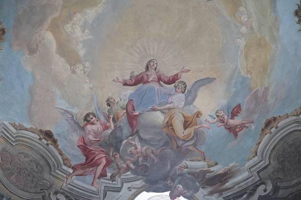 renaissance fresco - renaissance style stock photos and pictures