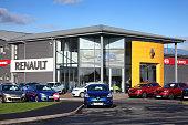Renault car showroom