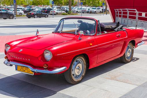 BEER-SHEBA, ISRAEL - JUN 07, 2019: Renault Caravelle year 1967 at motorshow in Beer-Sheba