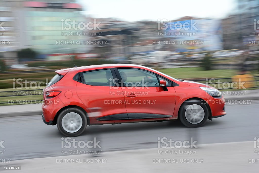 Renault Clio stock photo