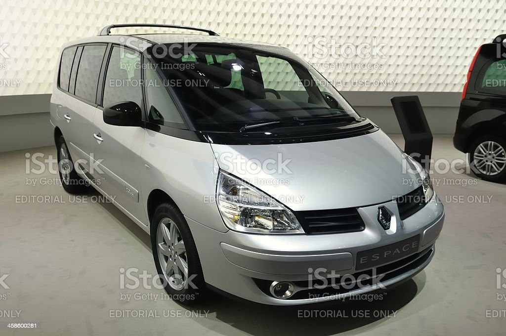 Renault Espace royalty-free stock photo