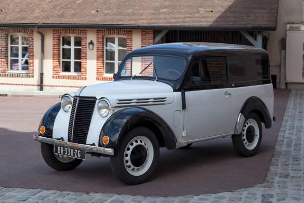 Renault Juvafour van stock photo