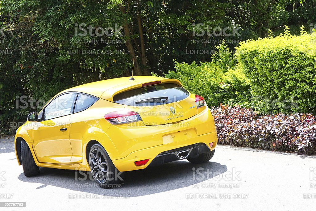 Renault Megane RS265 Cup stock photo