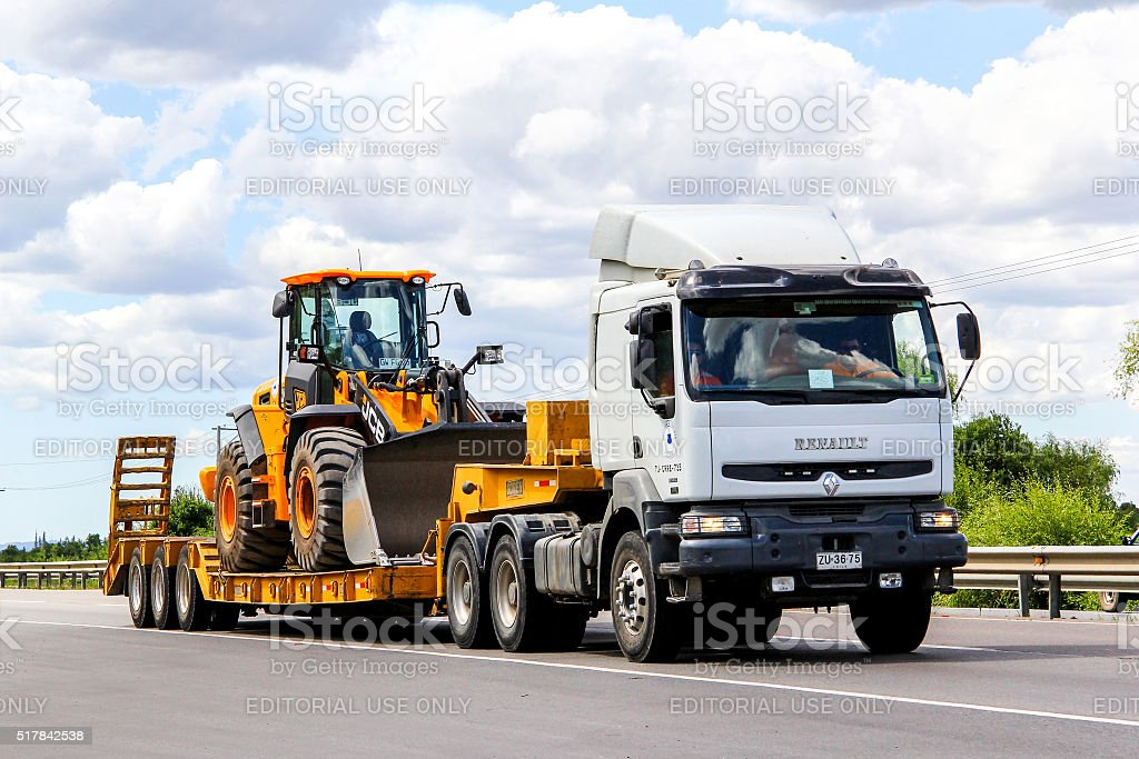 Renault Premium stock photo