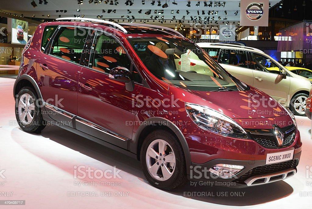Renault Scenic royalty-free stock photo